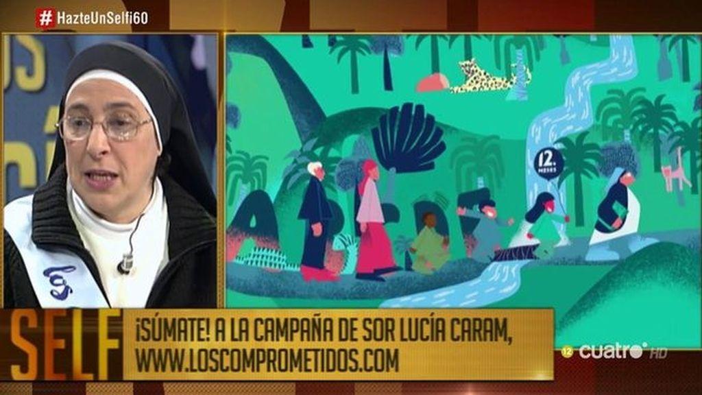 """Sor Lucía: """"Queremos evitar que los niños hereden la pobreza de sus padres"""""""