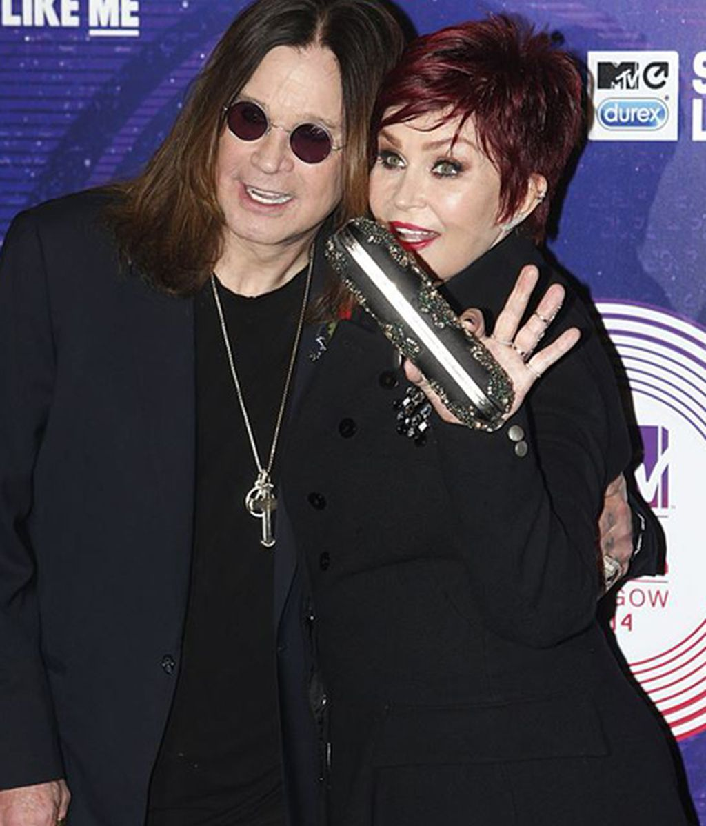 Ozzy Osbourne, icono global, y Sharon Osbourne
