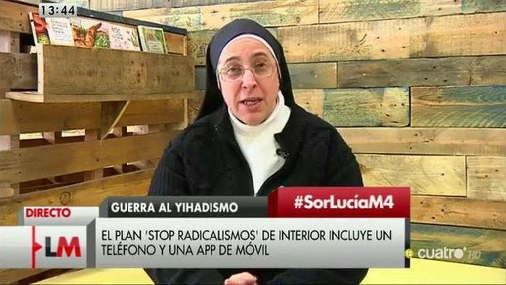 La entrevista a Sor Lucía Caram en 'Las Mañanas de Cuatro'