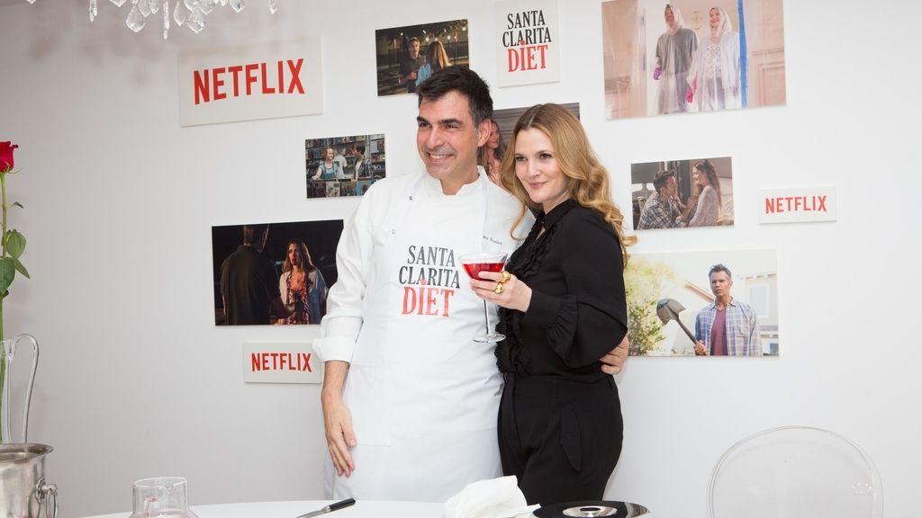 Drew Barrymore y Ramón Freixa, 'Santa Clarita diet'