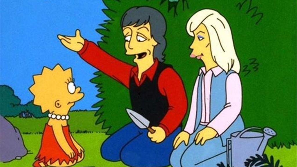 Por qué son amarillos y otras 29 curiosidades sobre 'Los Simpson' - La condición de Paul y Linda McCartney (que Lisa sea vegetariana)