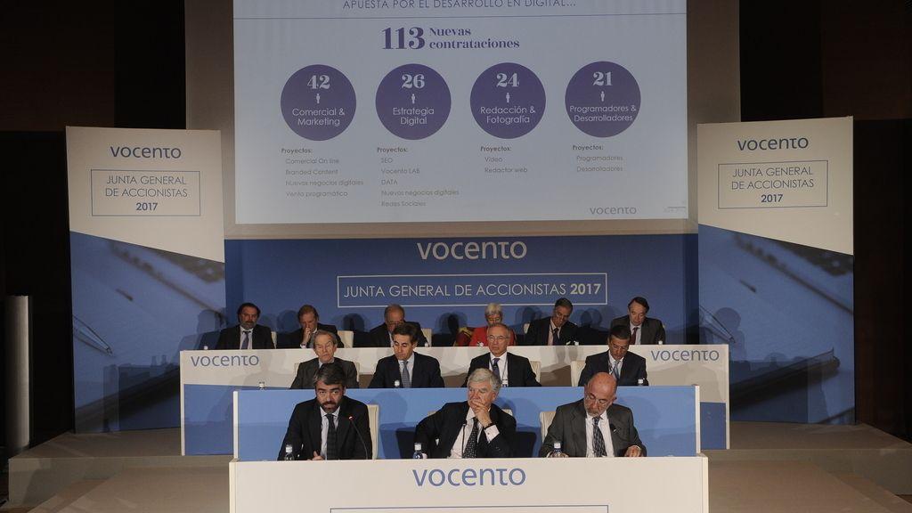Junta de Vocento