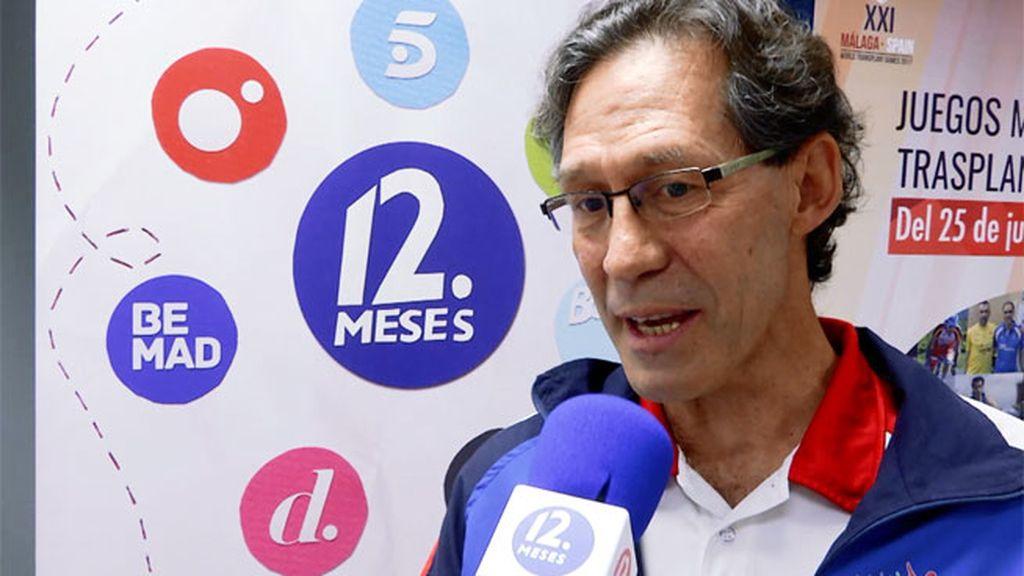 """Pepe: """"Los Juegos van a servir para que España aprenda de deporte y trasplante"""""""