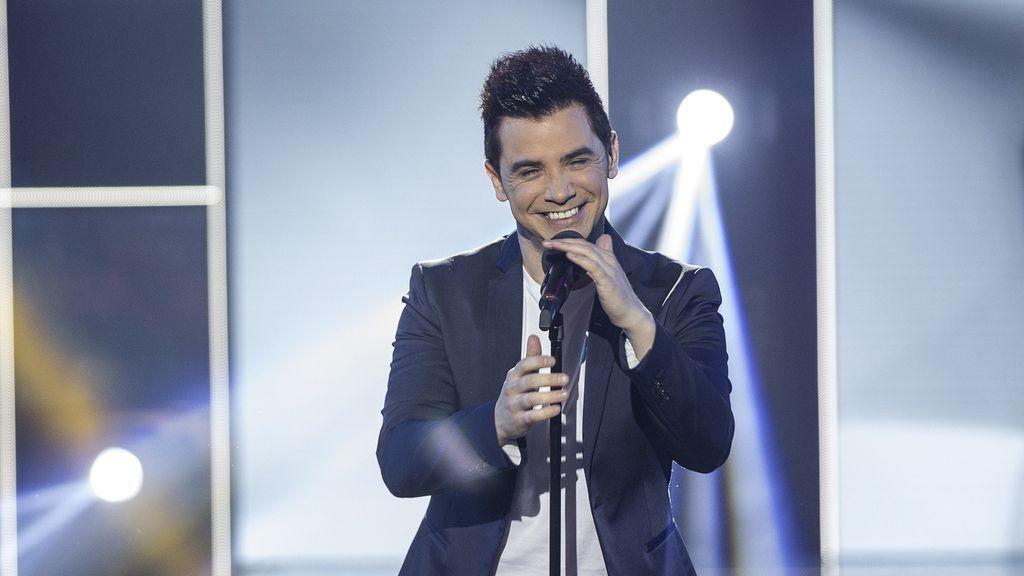 David Civera, cantante y componente del jurado de RTVE para el Festival de Eurovisión