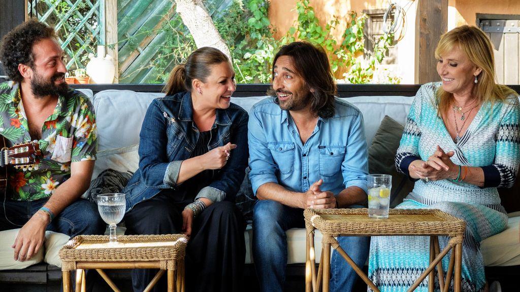 Bertín Osborne visita a Antonio Carmona en 'Mi casa es la tuya'