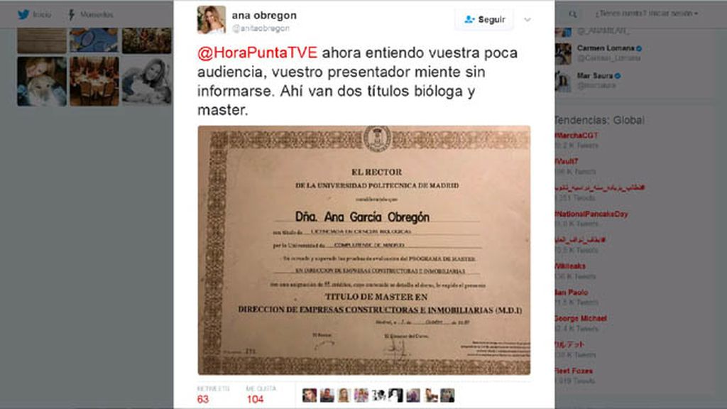 Título Ana Obregón