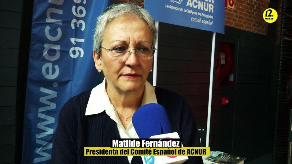 """Matilde Fernández: """"El problema de los refugiados empieza a ser muy grave"""""""