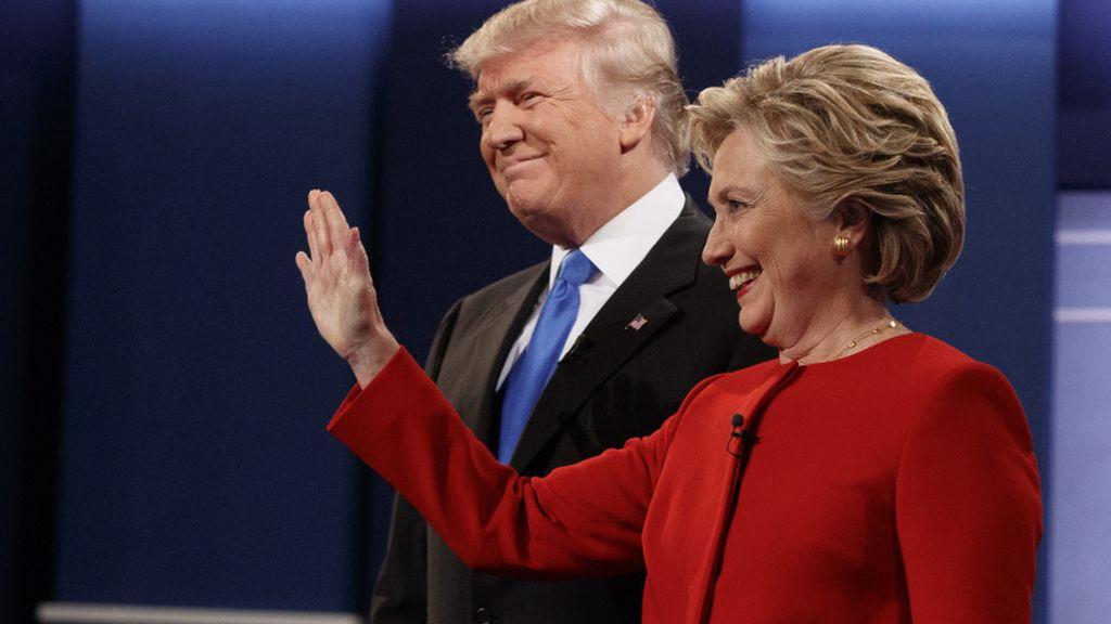 Trump y Clinton, debate presidencial