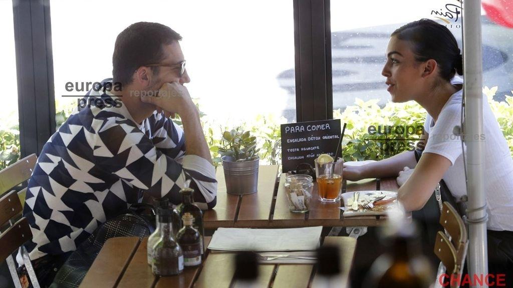 Miguel Ángel Silvestre y la novia de Ronaldo, juntos