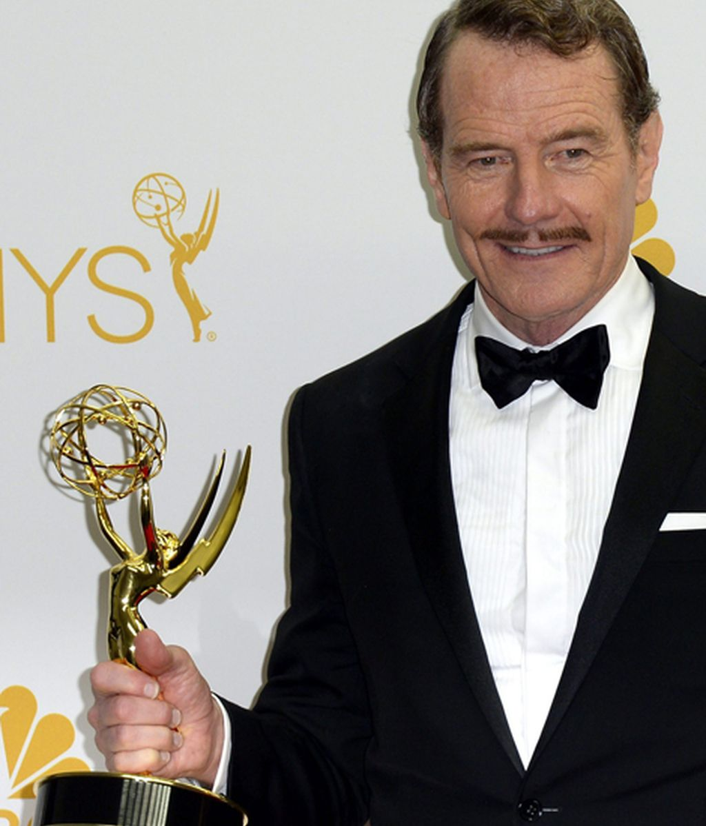 Bryan Cranston, mejor actor de drama por 'Breaking bad'