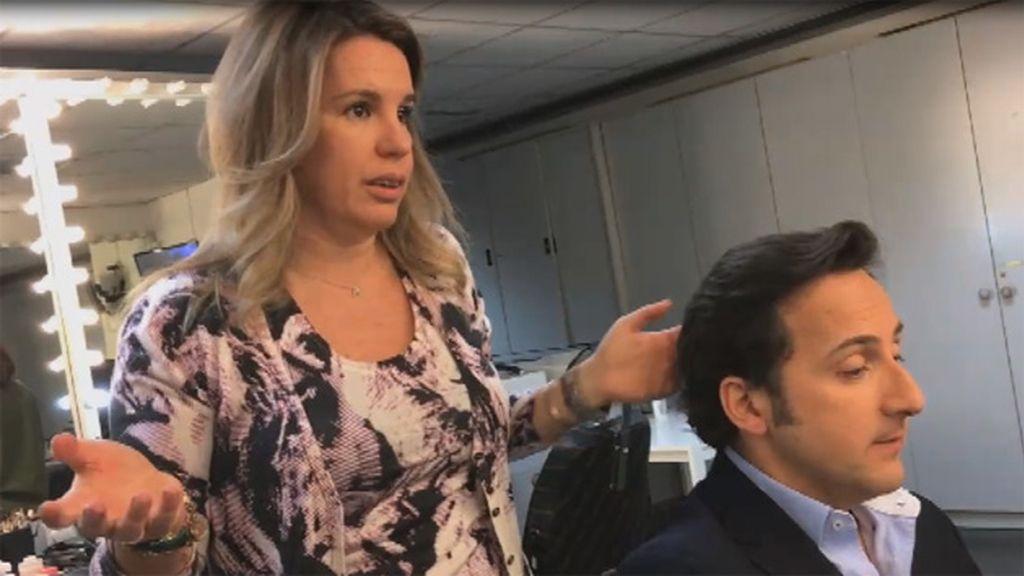 Iker jim nez y carmen porter discuten en maquillaje por el for Carmen cuarto milenio