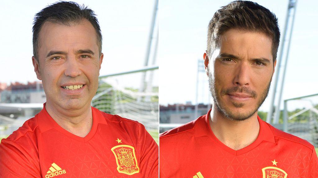 Luque y Pablo Pinto Eurocopa 2016