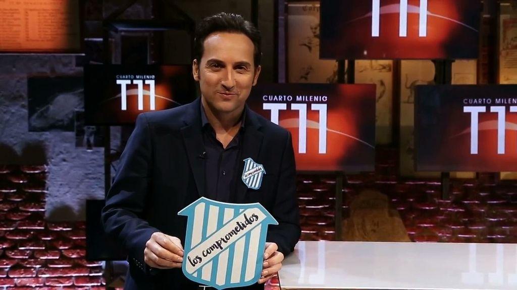 Iker Jiménez ya forma parte del equipo de 'Los Comprometidos'.
