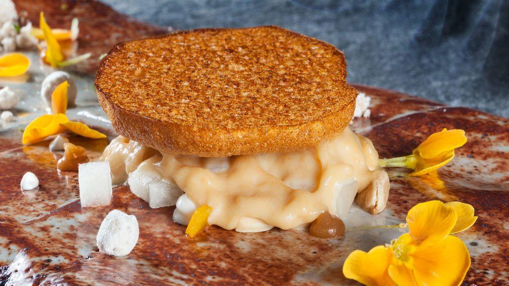 Plato de comida 'Jarofe' de Quique Dacosta para la quinta edición de 'La última cena' del canal Historia
