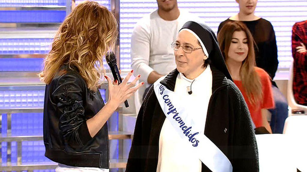 """Sor Lucía Caram y #LosComprometidos: """"Cambiar el mundo es cosa de niños"""""""