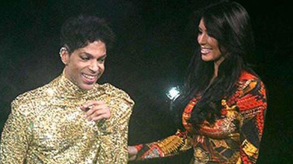 Kim Kardashian y Prince