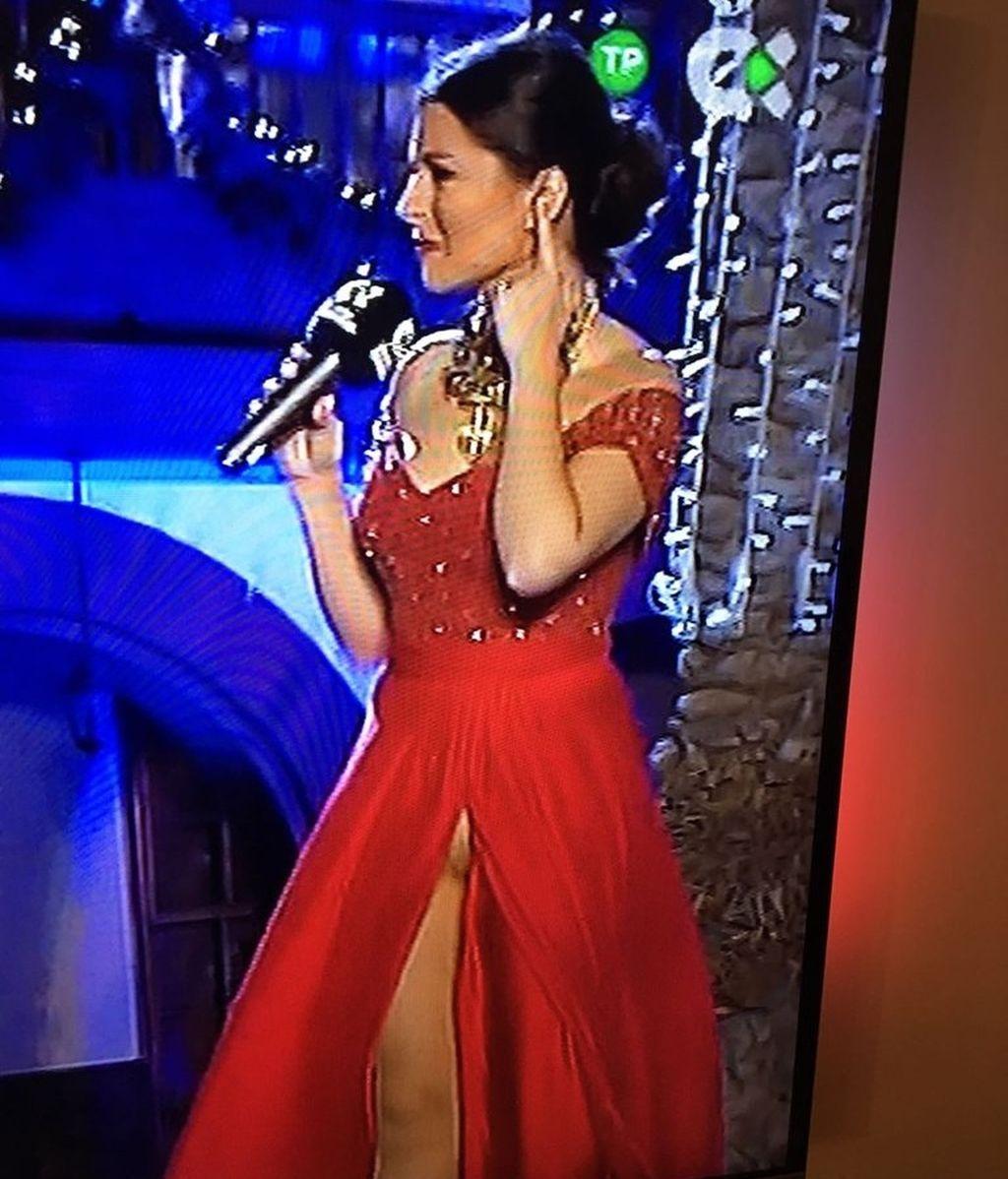 Eloísa González presenta las campanadas de fin de año de 2016 en TVC