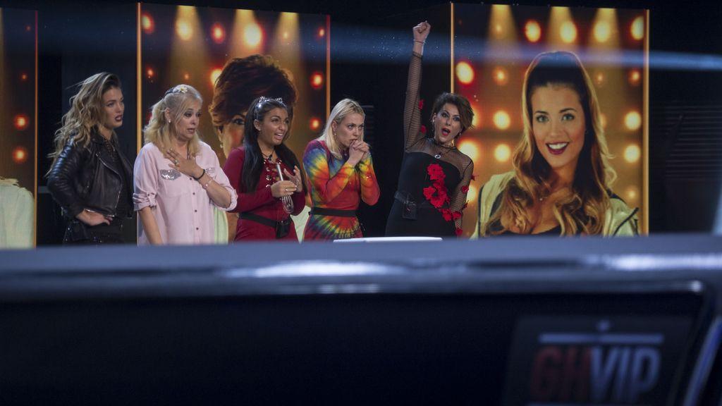 Las cinco finalistas de 'GH VIP 5'