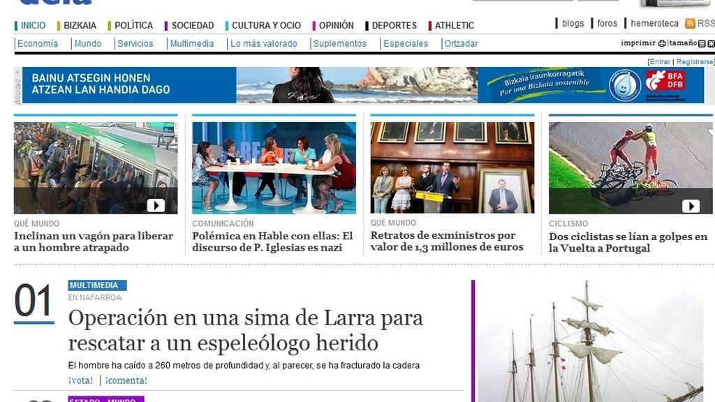 Cabecera Deia, Grupo Noticias