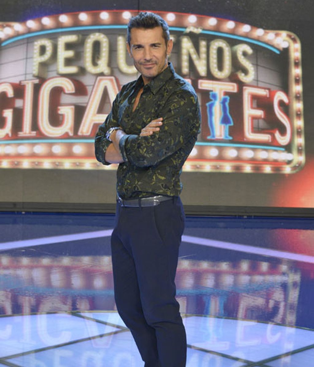 Jesús Vázquez, al frente de 'Pequeños gigantes'