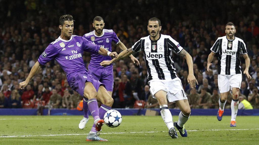 Fútbol. Final de la Champions League en Cardiff. Real Madrid-Juventus (4-1)