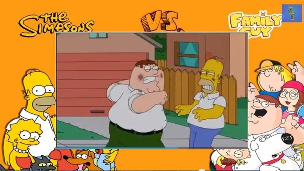 Fox adelanta cinco minutos del 'crossover' entre 'Los Simpson' y 'Padre de familia'