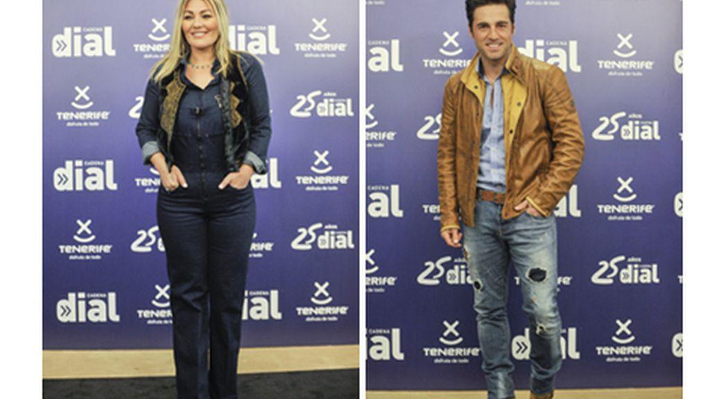 Amaia Montero y David Bustamante