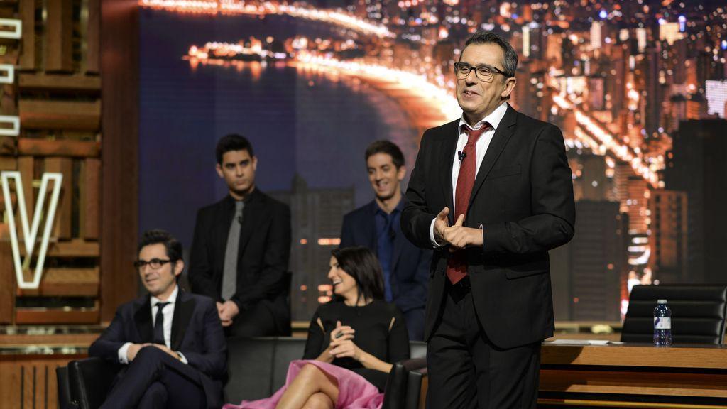 Buenafuente amenaza con lanzarse desde la azotea de Telefónica por 'Late motiv'