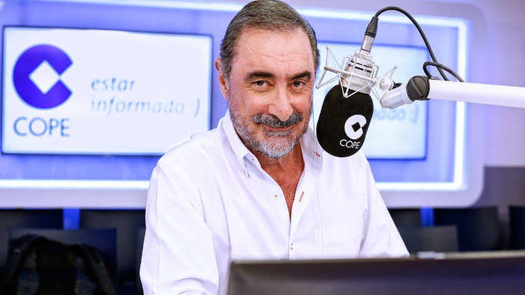 Carlos Herrera en 'Herrera en la onda', en la COPE