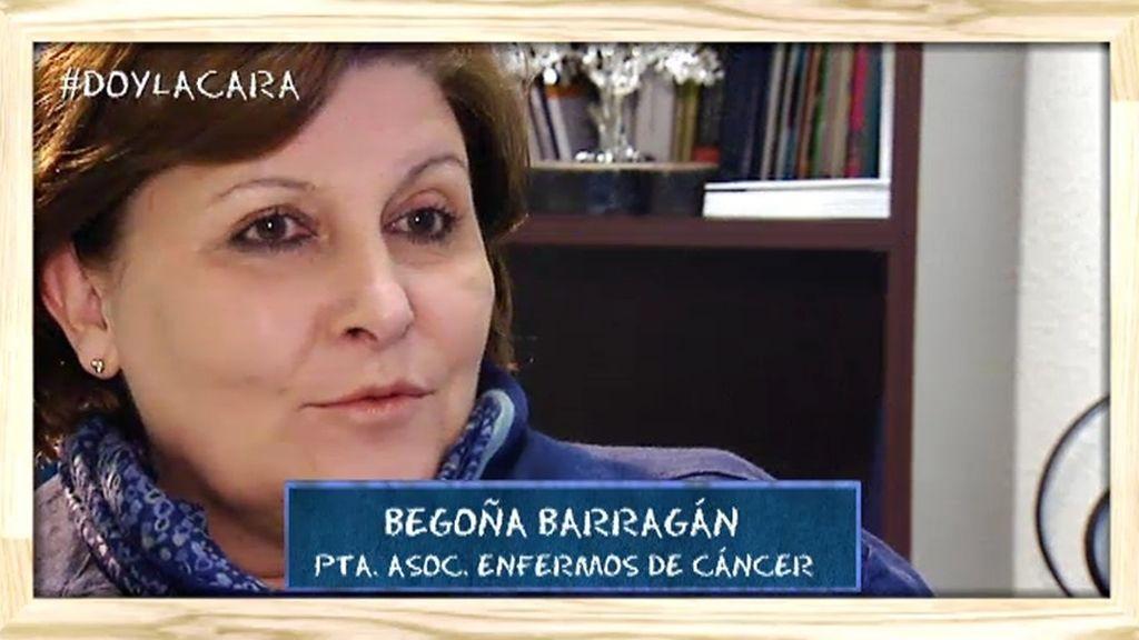 Begoña Barragán, un referente en la lucha contra el cáncer desde las asociaciones