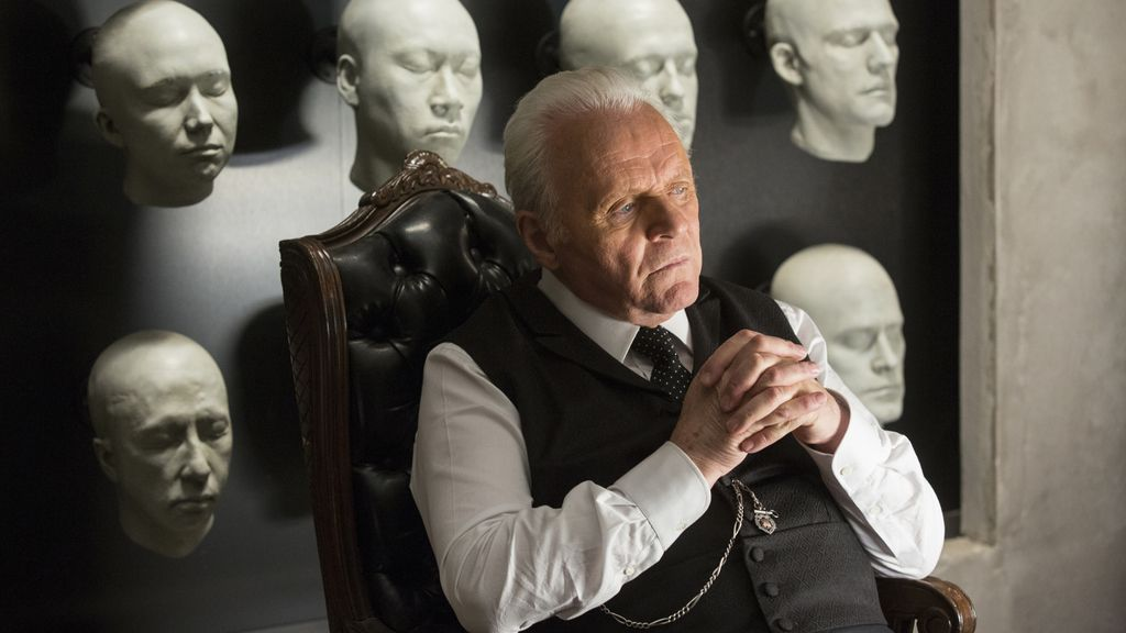 Anthony Hopkins es Robert Ford en 'Westworld'