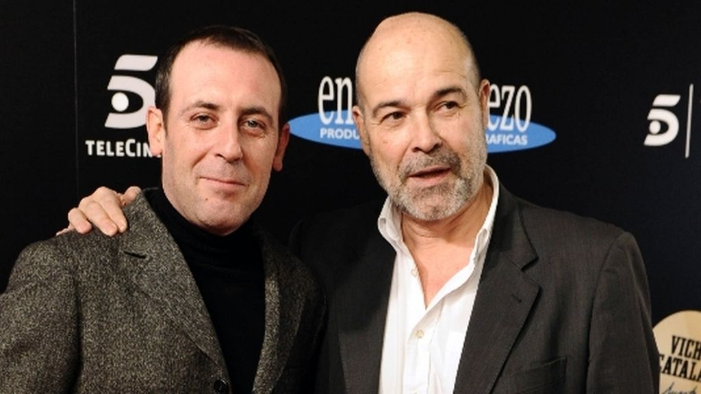 Antonio Resines y Antonio Molero