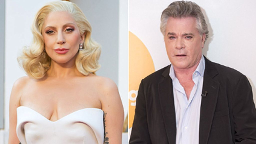 Lady Gaga y Ray Liotta,