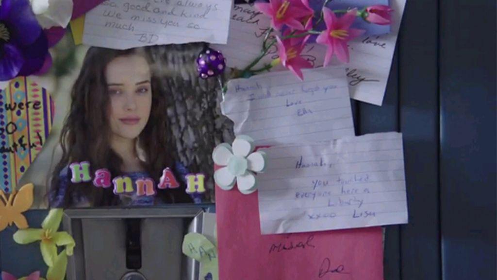 'Por 13 razones', Hannah se suicidó en el instituto