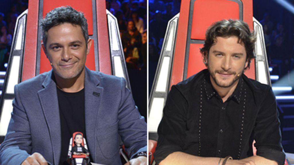 Alejandro Sanz y Manuel Carrasco, La voz