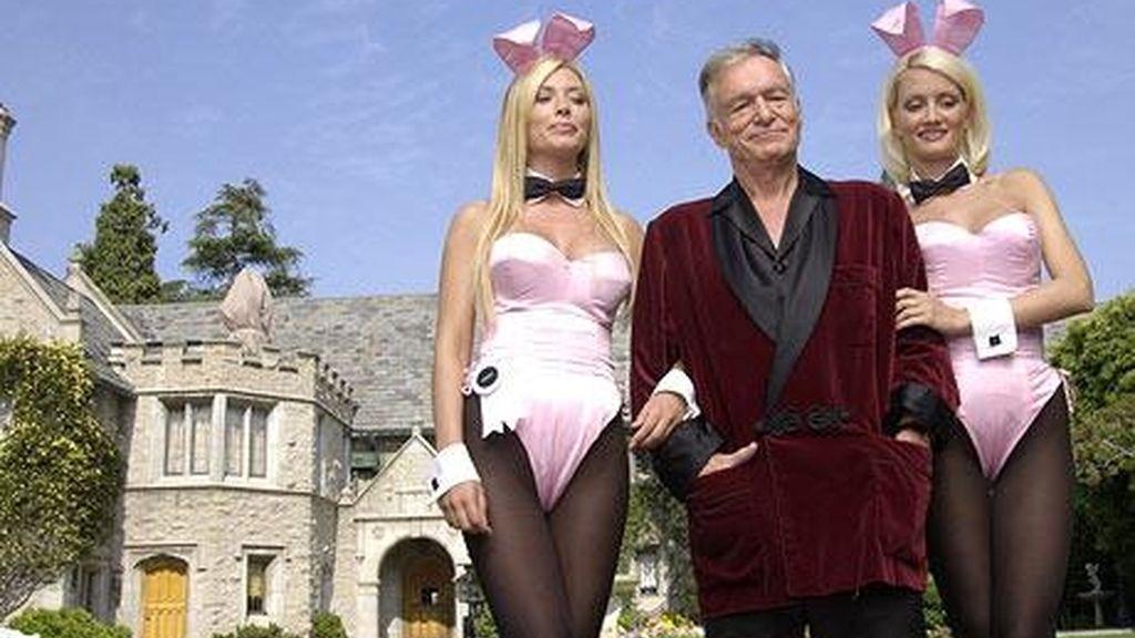 Hugh Hefner mansión Playboy