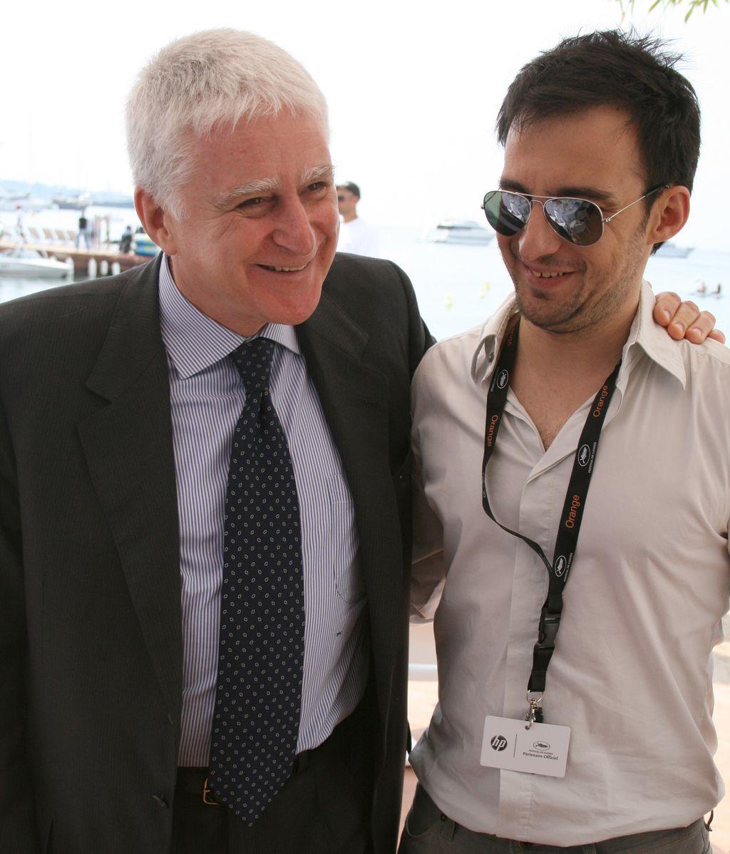 Paolo Vasile y Alejandro Amenabar