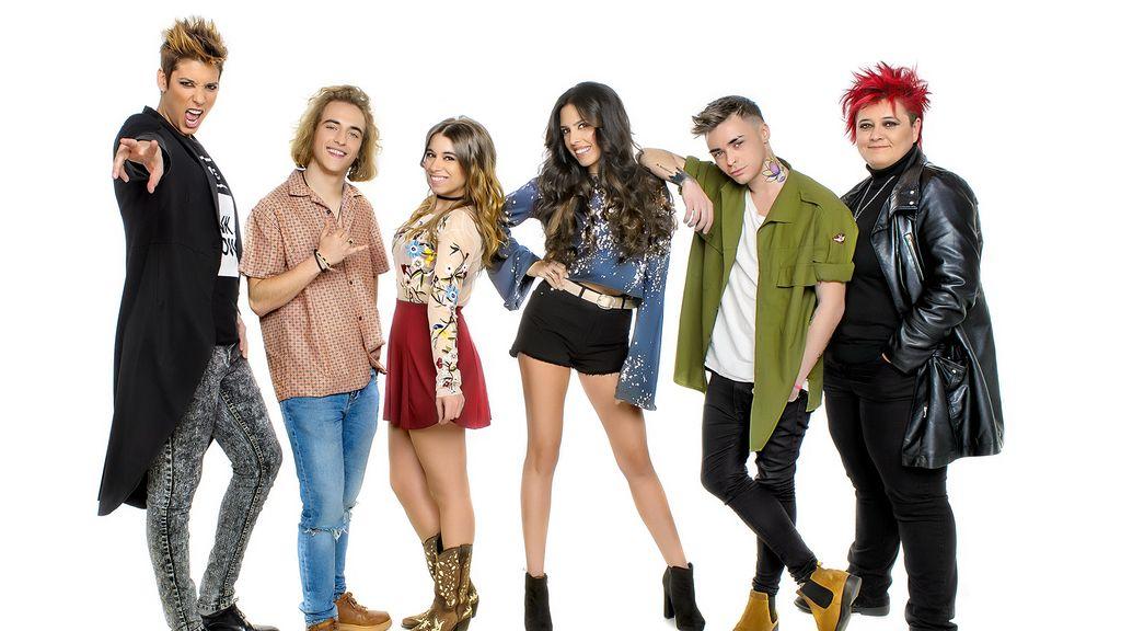 Concursantes 'Objetivo Eurovisión'