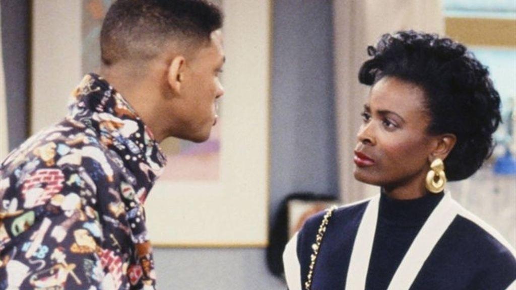 Will Smith y Janet Hubert en 'El príncipe de Bel Air'