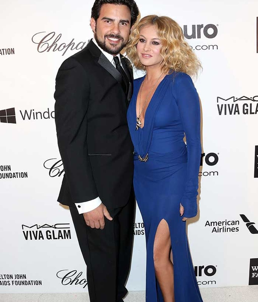 Paulina Rubio y Gerardo Bazua