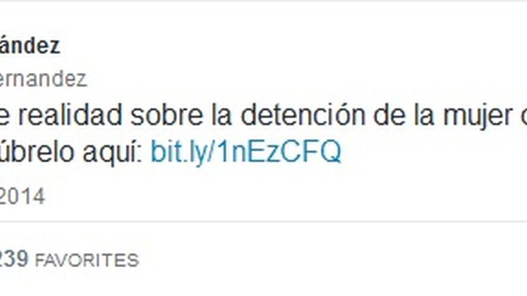 Tuit Kiko Hernández #freeYuyee