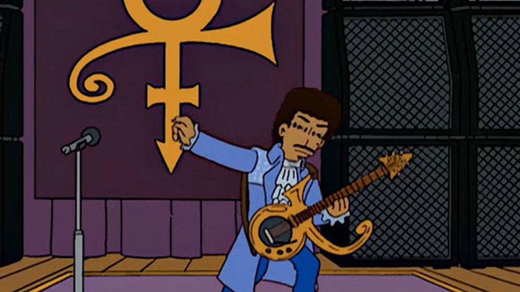 Prince en Los Simpsons
