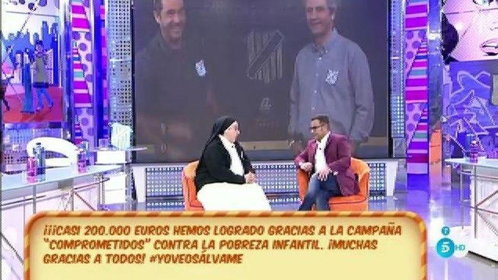 La campaña de 'Los Comprometidos' consigue recaudar 200.000€