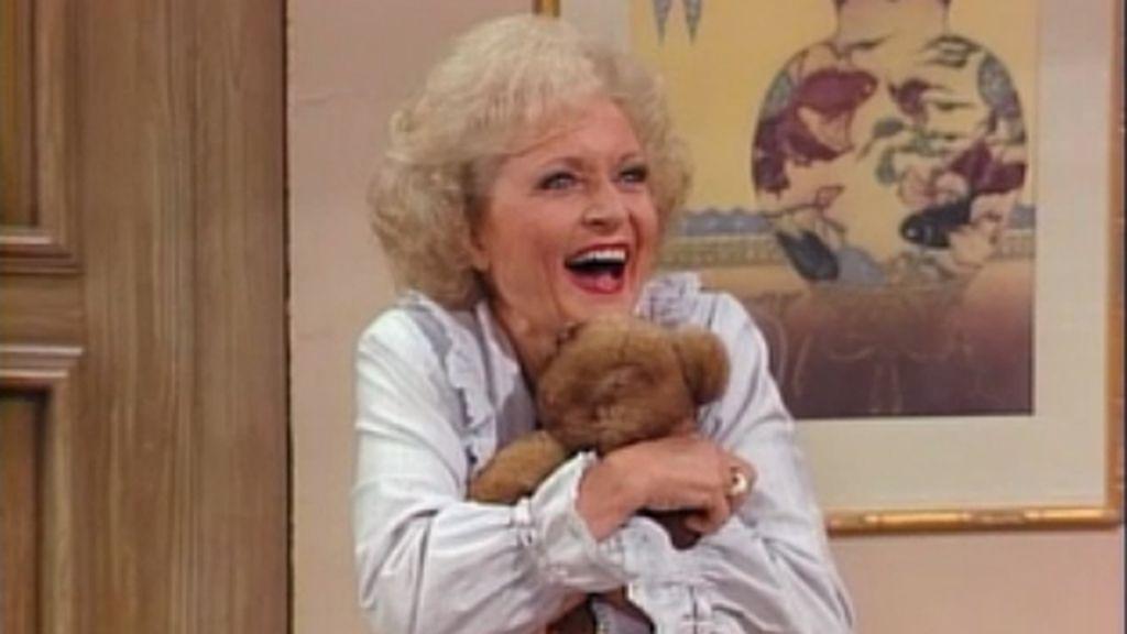 Betty White es Rose en la comedia 'Las chicas de oro'