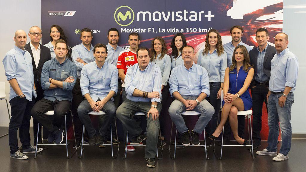 Fórmula 1, Movistar +