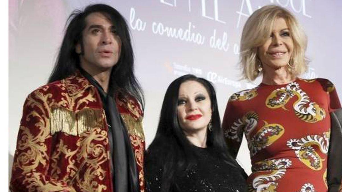 Mario Vaquerizo, Alaska y Bibiana Fernández