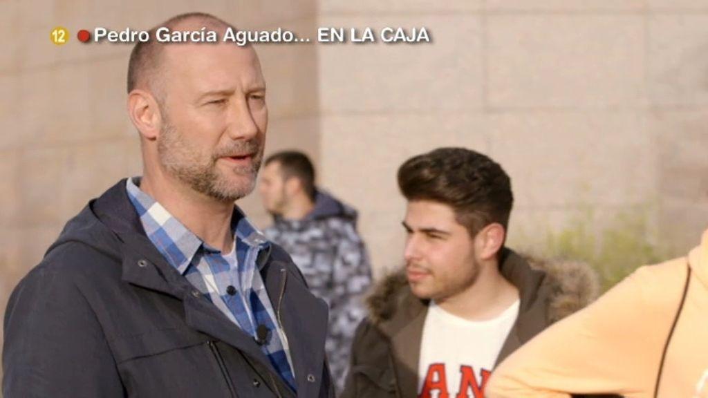 Pedro García Aguado se libera de prejuicios ante el macrobotellón en Granada