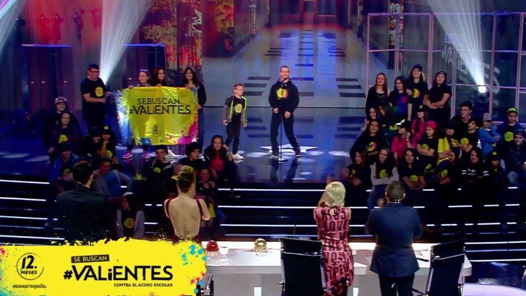 La actuación de El Langui, su hijo y Coro Encanto impresiona al jurado de 'Got Talent'