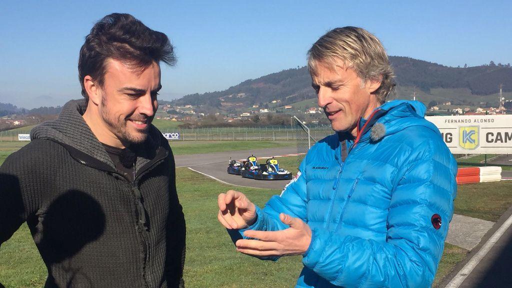 Fernando Alonso, invitado en 'Planeta Calleja' el 28 de mayo