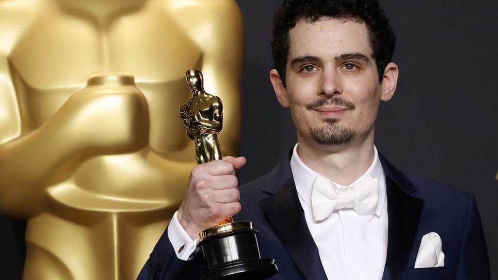 Damien Chazelle, ganador del Oscar a mejor director por 'La la land'